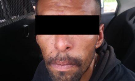 Cuenta con  orden de aprehensión vigente y fue detenido en el municipio de Calvillo