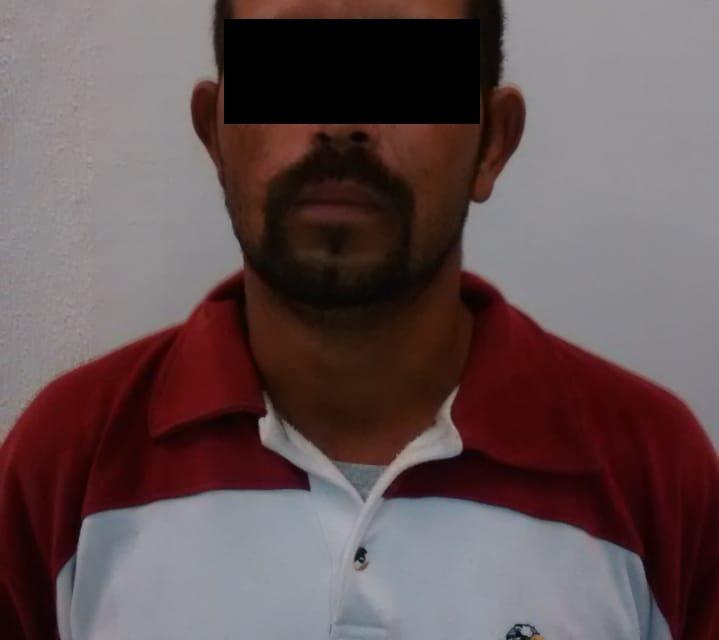 Cuenta con orden de aprehensión y fue detenido en Jesús María