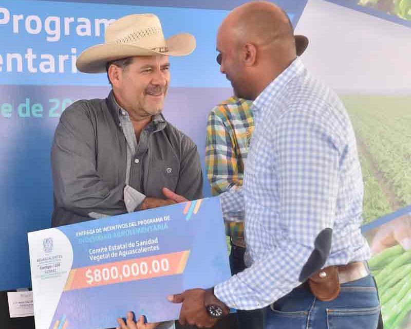 ¡Apoya Gobierno a Cosío y Rincón de Romos con obras y programas por 19 MDP!