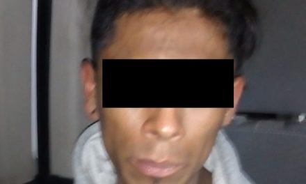 En el municipio de Jesús María, fue detenido por lesiones