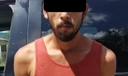 Fue acusado de robar en una chatarrera en el municipio de Calvillo y fue detenido por elementos de la SSPE