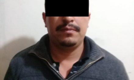 Por el delito de violencia intrafamiliar fue detenido en el municipio de Cosío