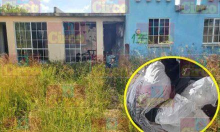 ¡Ejecutado, maniatado y con una bolsa en la cabeza fue hallado un hombre en Lagos de Moreno!