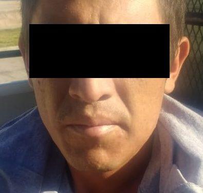 Cuenta con orden de aprehensión y fue detenido en San Francisco de los Romo
