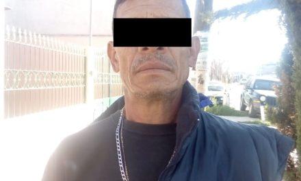 Quincuagenario fue detenido por elementos de la SSPE con medio kilogramo de marihuana