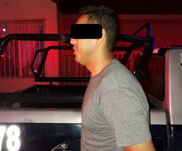 Minutos después de robar un vehículo fue detenido en Calvillo
