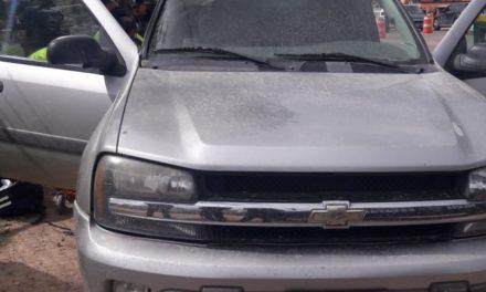 Fue recuperado en el municipio de Asientos un vehículo que contaba con reporte de robo