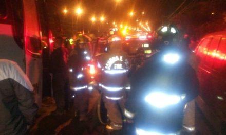 Bomberos del Estado sofocaron un incendio domiciliario en San Francisco de los Romo