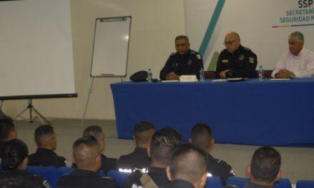 Reciben elementos de la Policía Estatal curso de proximidad social