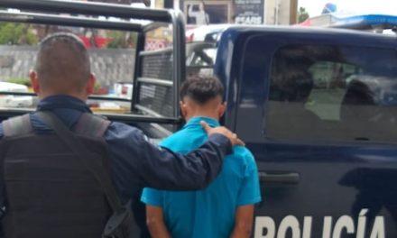 Presunto distribuidor de drogas fue detenido por la Policía Estatal