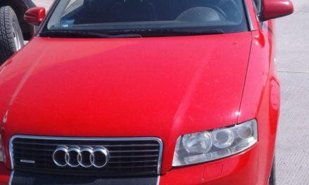 Conducía un Audi con placas sobrepuestas y fue detenido en Pabellón de Arteaga