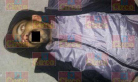 ¡Hombre fue ejecutado en Lomas de Plateros en Fresnillo!