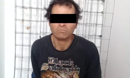 En el municipio de Asientos fue detenido sujeto señalado por el delito de robo