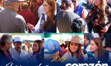 """""""2018 fue un año de logros para Aguascalientes"""": Tere Jiménez"""