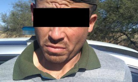 Detienen en el municipio de Cosío a sujeto que conducía un vehículo con placas sobrepuestas