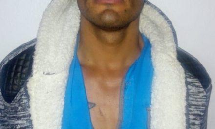 En el municipio de San José de Gracia fue detenido sujeto identificado como blanco prioritario, el cual cuenta con orden de aprehensión vigente por el delito de robo