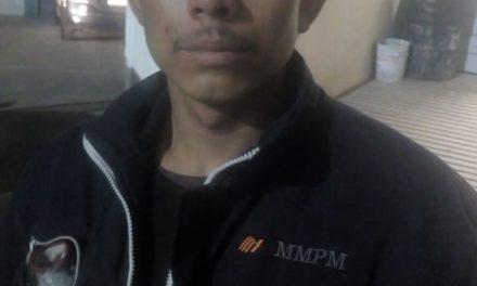 """Aseguran a """"El Poncho"""" en posesión de droga en Pabellón de Arteaga"""