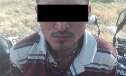 """Fue detenido """"El Chilango"""" en el municipio de Jesús María"""
