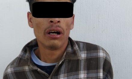 "Fue capturado ""El Chillón"", en Pabellón de Arteaga"