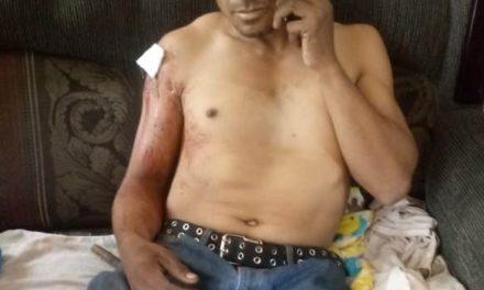 Se introdujo a un predio sin autorización y el velador lo hirió con un arma de fuego