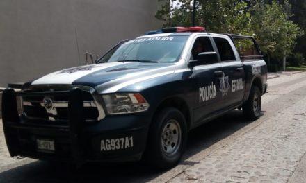 Fue localizada camioneta con un mezquite en el municipio de Jesús María