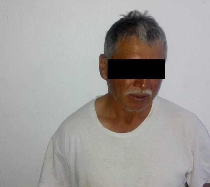 Quincuagenario fue detenido en San José de Gracia por lesiones y daños