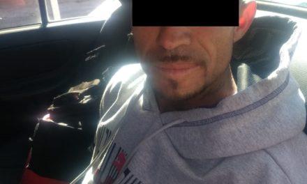 Capturan en San Francisco de los Romo a sujeto en posesión de cocaína y crystal