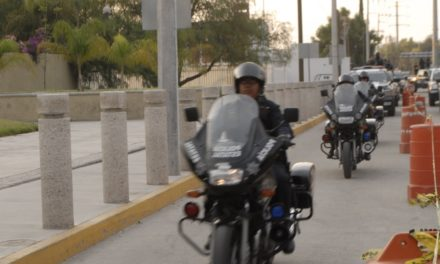 Conducían una motocicleta con reporte de robo