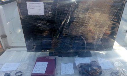 Dos menores de edad fueron detenidos tras haber sido señalados por robo en el municipio de Pabellón de Arteaga