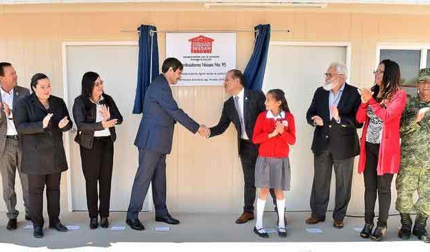 ¡Inaugura el Gobernador la Primaria Distribuidores Nissan No. 95 en San Francisco de los Romo!
