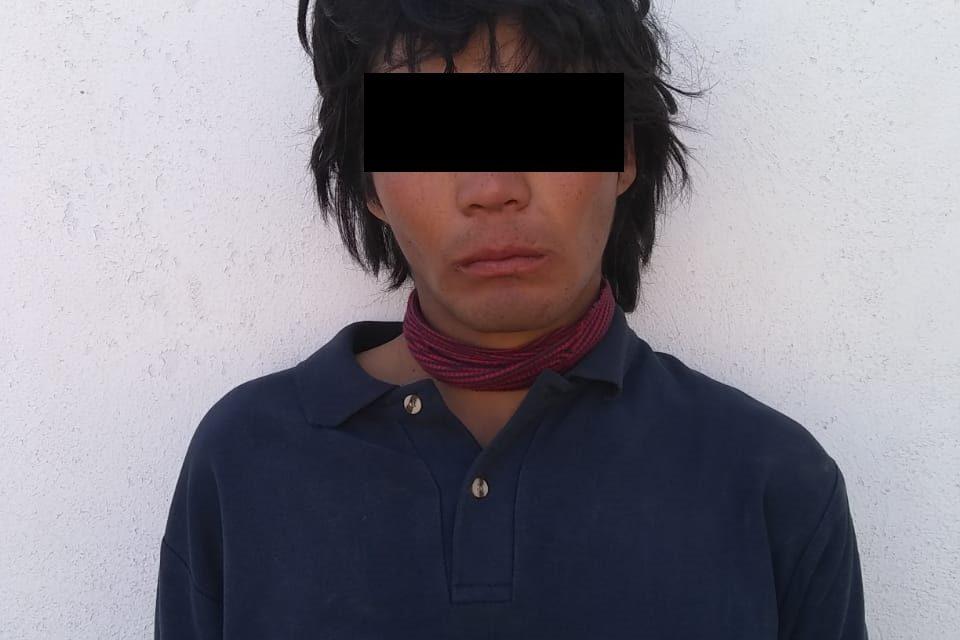 Sujeto conocido como El Pingüino, fue detenido en Jesús María con droga crystal