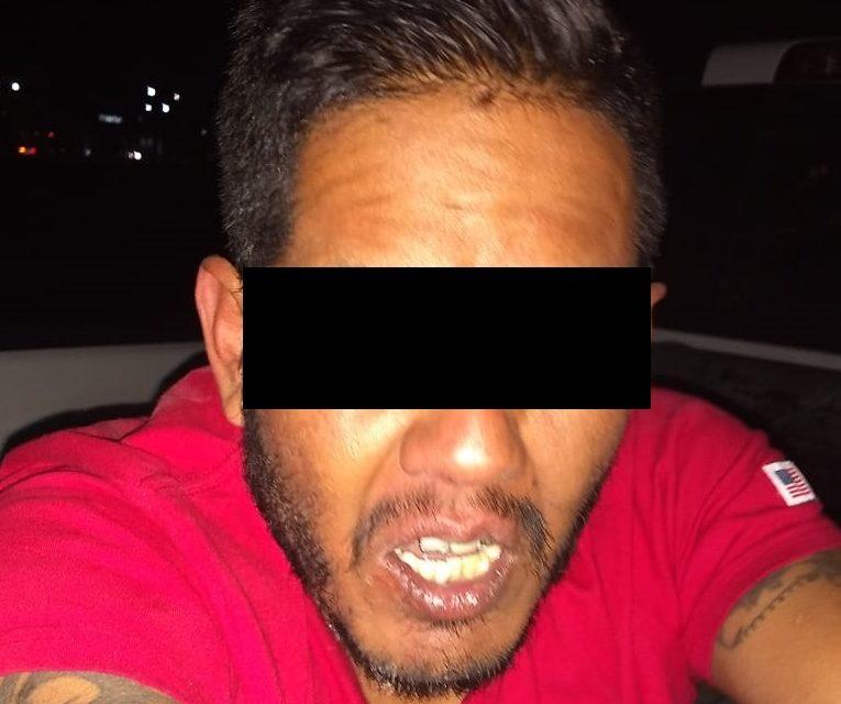 No baja la guardia la SSPE en el combate a la venta de drogas y aseguró a un presunto distribuidor