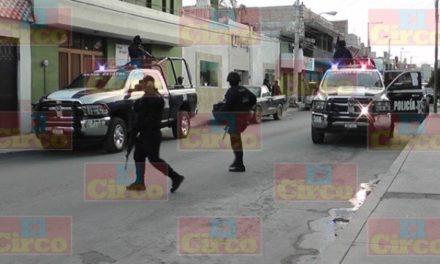 ¡Policías estatales de Zacatecas fueron asaltados por Estatales de Durango!