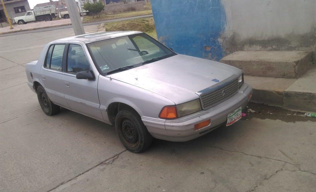 Fue asegurado un vehículo con placas sobrepuestas en Tepezalá.