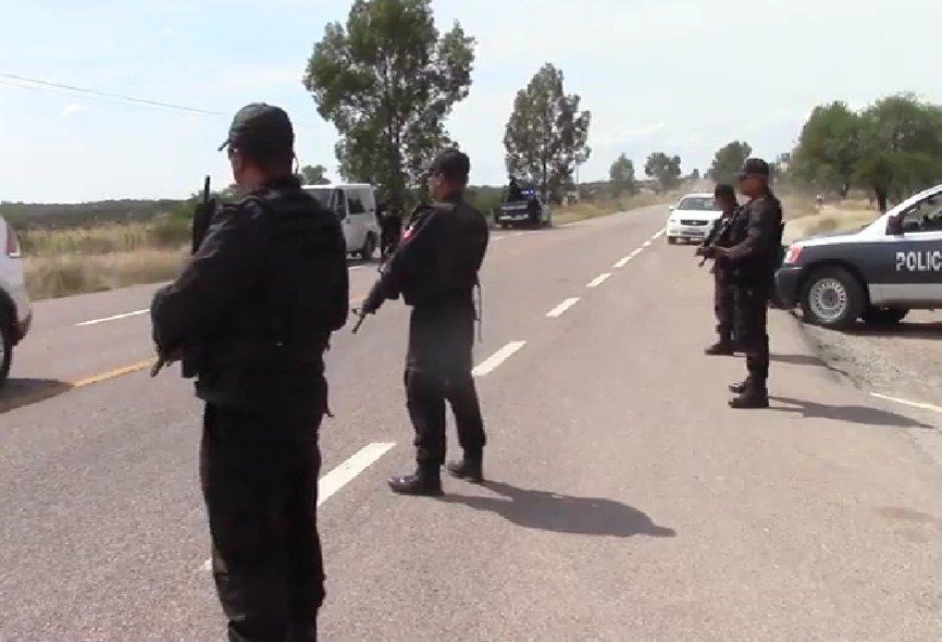 Portaba droga crystal y fue detenido por elementos de la SSPE  en la comunidad de San Jacinto