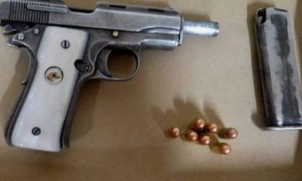 Capturan en Tepezalá a sujeto en posesión de droga y un arma de fuego