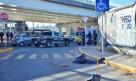 ¡Muere atropellado un empleado de limpia del Municipio de Aguascalientes!