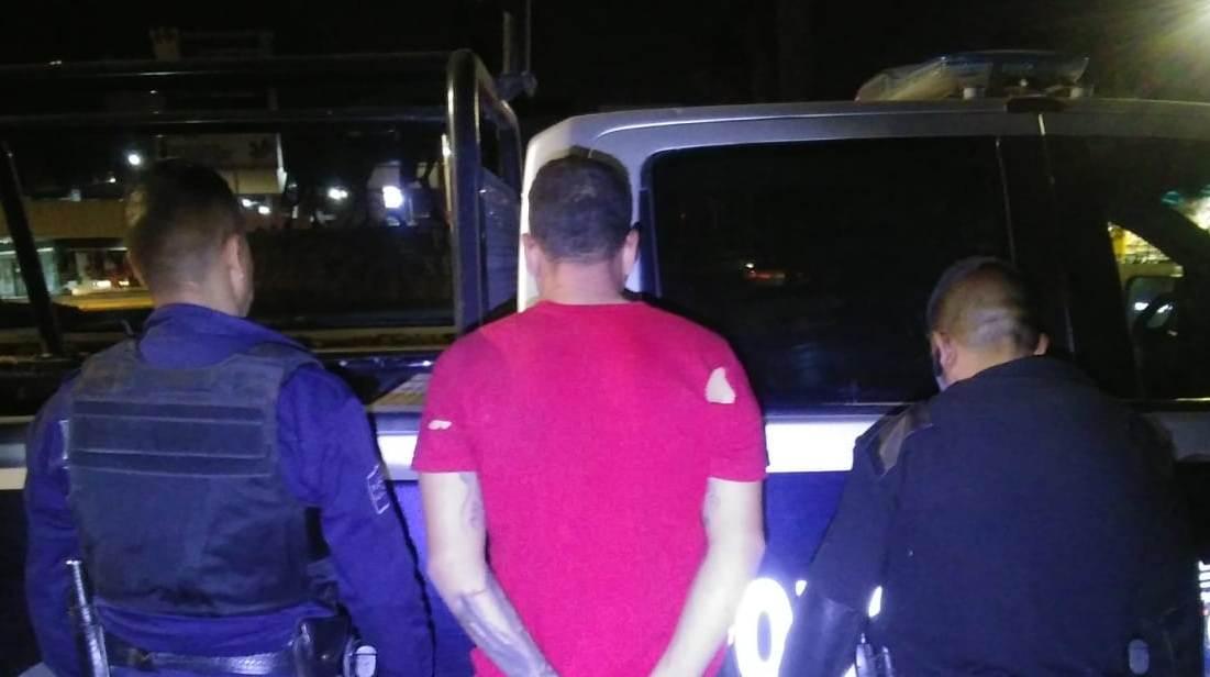Capturan elementos de la SSPE y de la Policía Municipal de San Francisco de los Romo a asaltante