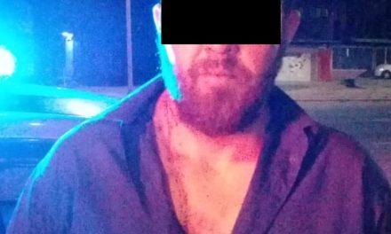 Tras haber sido señalado por dañar un automóvil, fue detenido en el municipio de Calvillo
