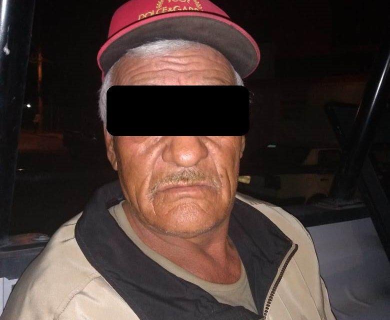 Golpeó a una mujer y terminó siendo detenido