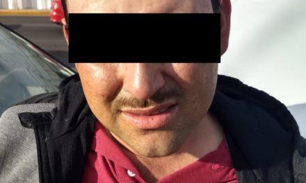 Detienen elementos de la SSPE a sujeto en posesión de droga en la colonia México