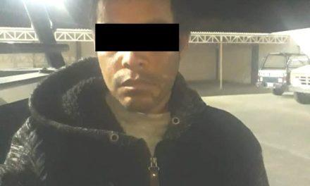 Contaba con una orden de aprehensión vigente y fue detenido en Pabellón de Arteaga