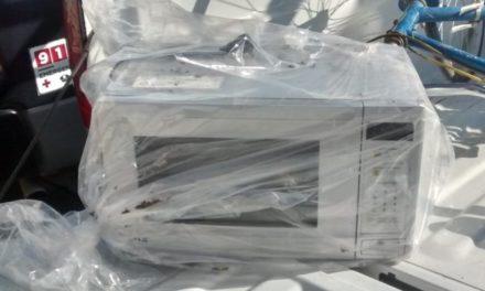 Fueron recuperados en el municipio de Cosío, objetos producto de un robo domiciliario