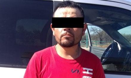Pareja dedicada presuntamente a la distribución de enervantes fue detenida en Cosío