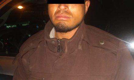 En el municipio de Cosío fue detenido sujeto en posesión de enervantes que cuenta con dos órdenes de aprehensión por delitos contra la salud