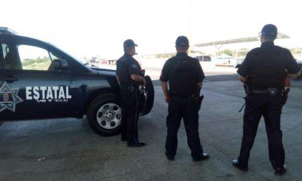 Conducía vehículo con reporte de robo y fue detenido en puesto de seguridad