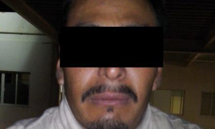 Contaba con dos órdenes de reaprehensión vigentes y fue detenido en el municipio de Jesús María