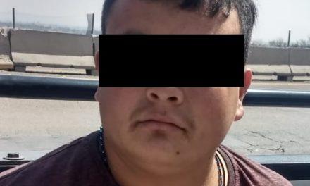 """Fue capturado """"El Cuadrado"""" presunto distribuidor de enervantes que operaba en Cosío"""