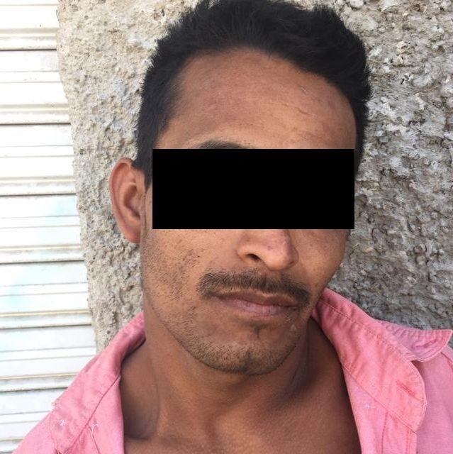 """Fue detenido sujeto conocido como """"El Chaparro"""" en el municipio de Jesús María"""
