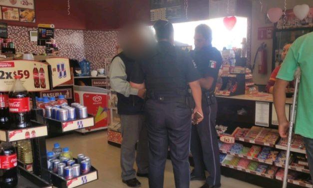 Frustran policías extorsión telefónica en Pabellón de Arteaga